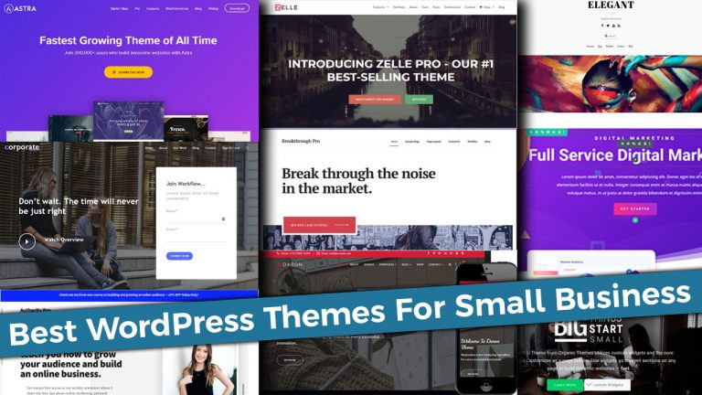 Best WordPress Themes For Small Business