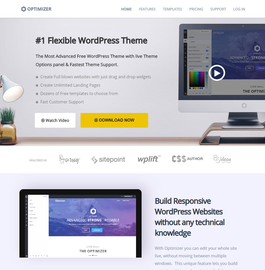Optimizer WordPress Theme