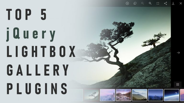 Top 5 jQuery Lightbox Gallery Plugins