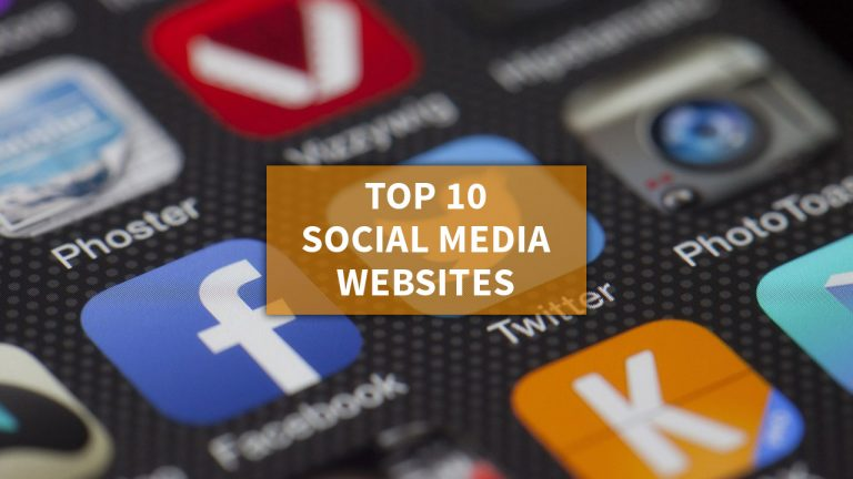Top 10 Social Media Websites And Platforms In 2019