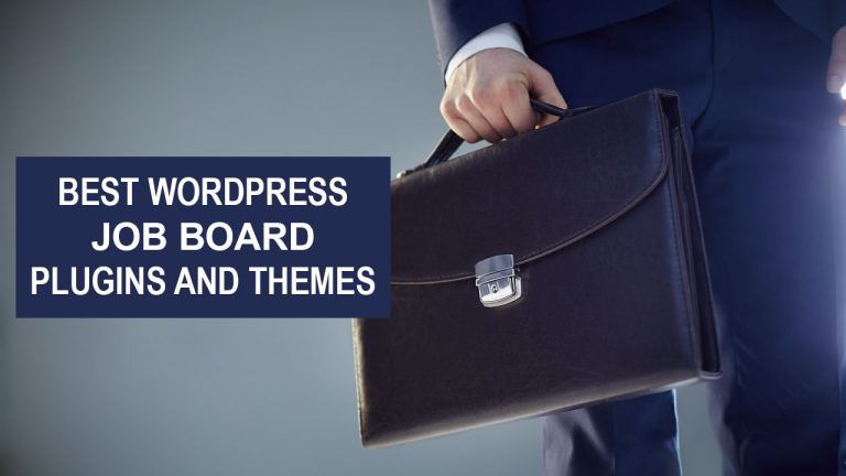 7 Best WordPress Job Board Plugins and Themes