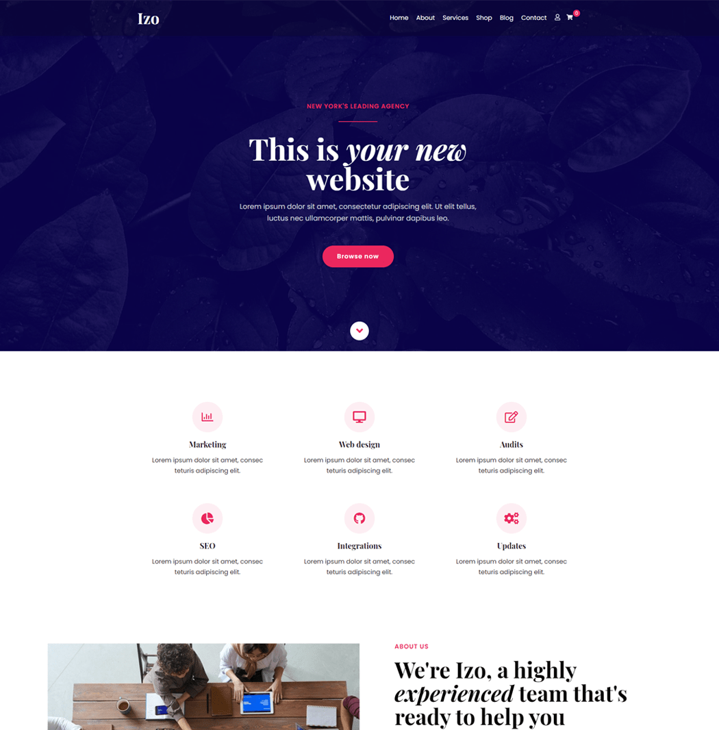 Lzo WordPress Theme