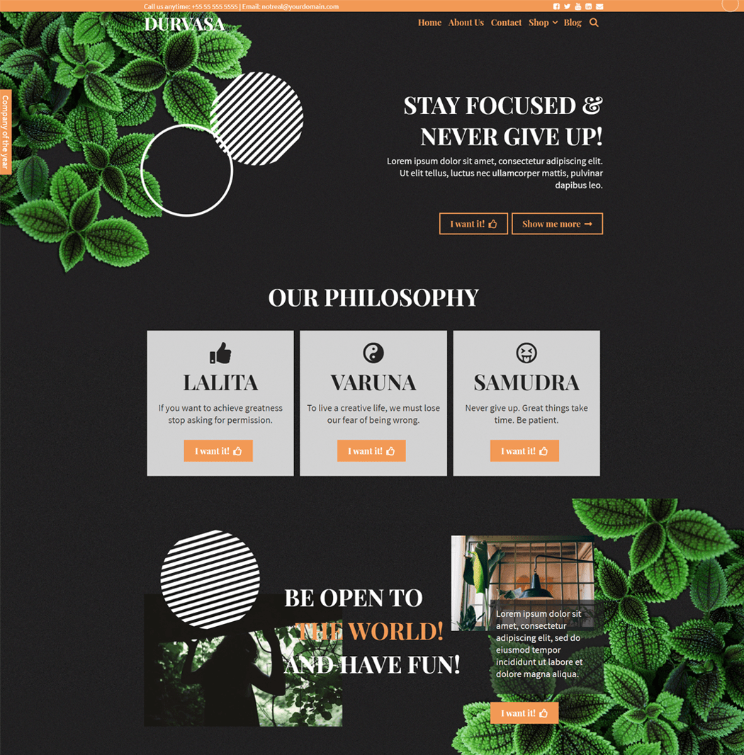 Durvasa-WordPress-Free-Theme