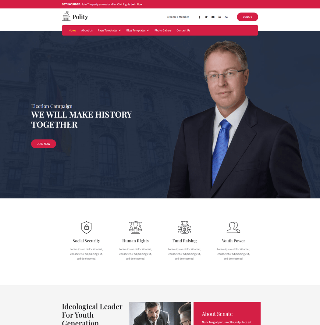 Polity-WordPress-theme-for-politics